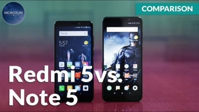 redmi note 5 vs redmi 5