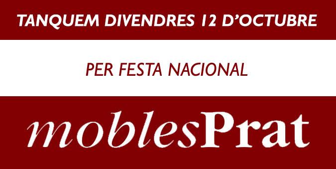 TANQUEM EL DIA 12 PER FESTA NACIONAL
