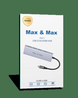 USB C MAXANDMAX HUB 4 in 1