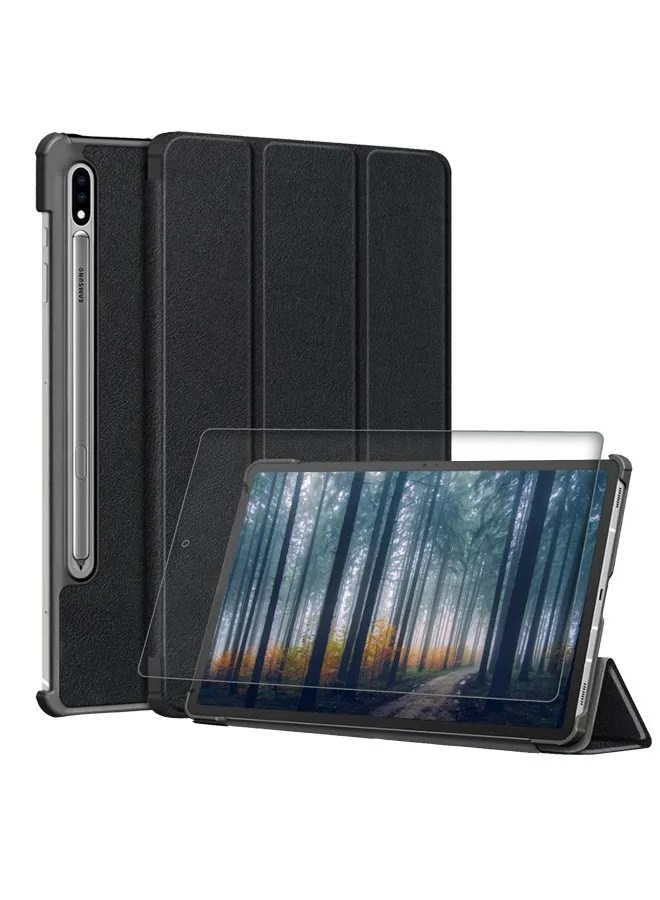 Samsung Tab S7Plus Bundle Glass with Cover Bundle