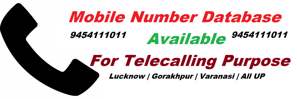 mobile number database in lucknow