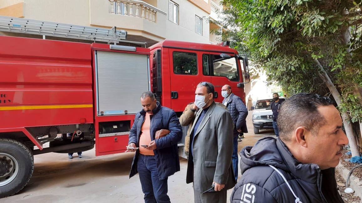 حريق فى مصحة لعلاج الإدمان بالإسكندرية