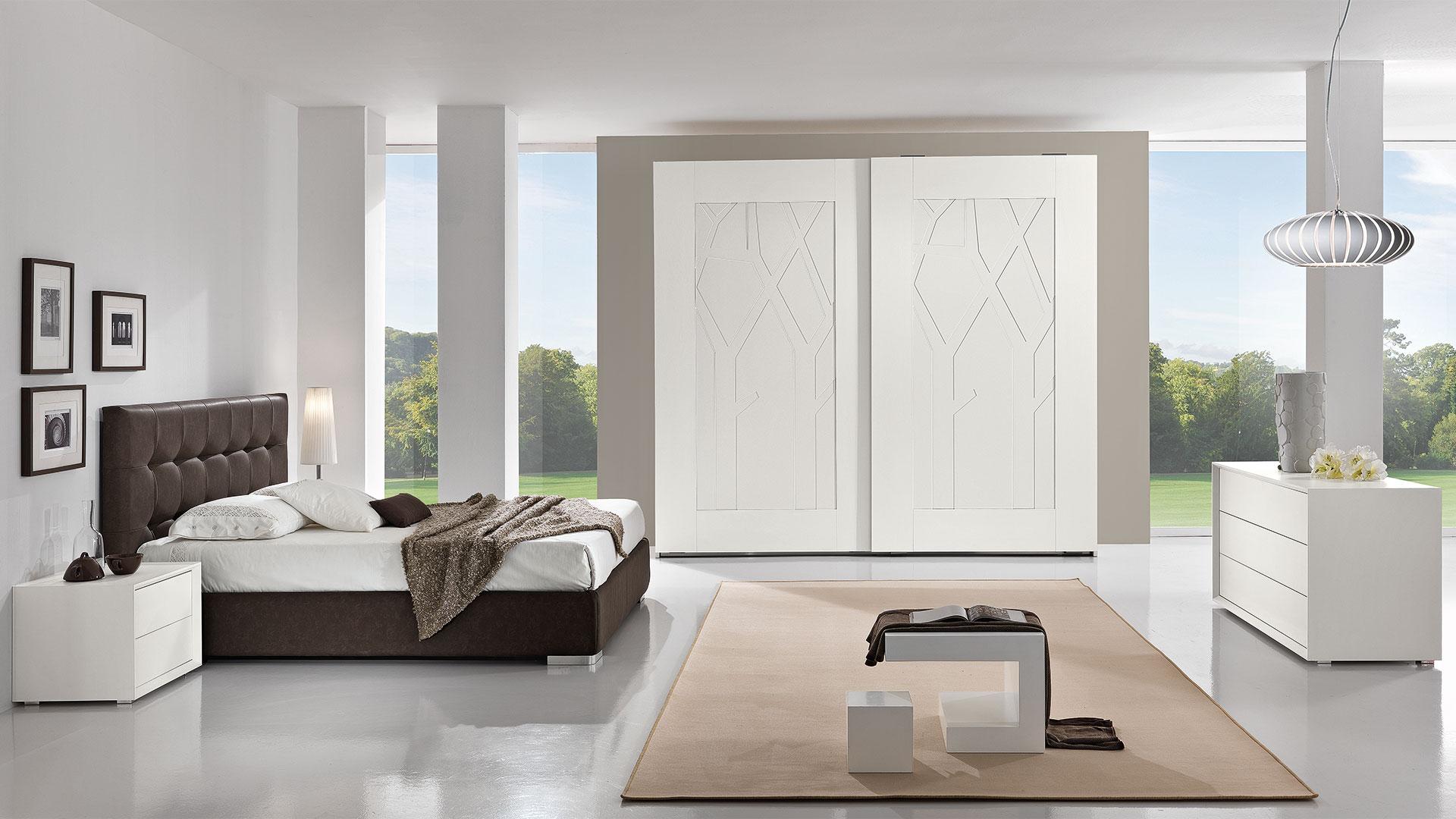 Caratteristiche tipologie di camera da letto. Camere Da Letto Moderne Moby Arredamenti