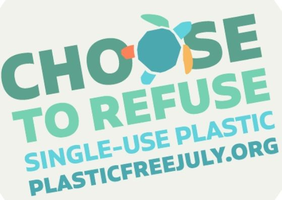 Plastic Free July Banner