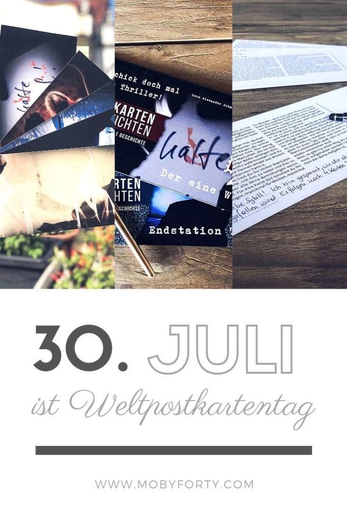 Weltpostkartentag mit Postkartengeschichten