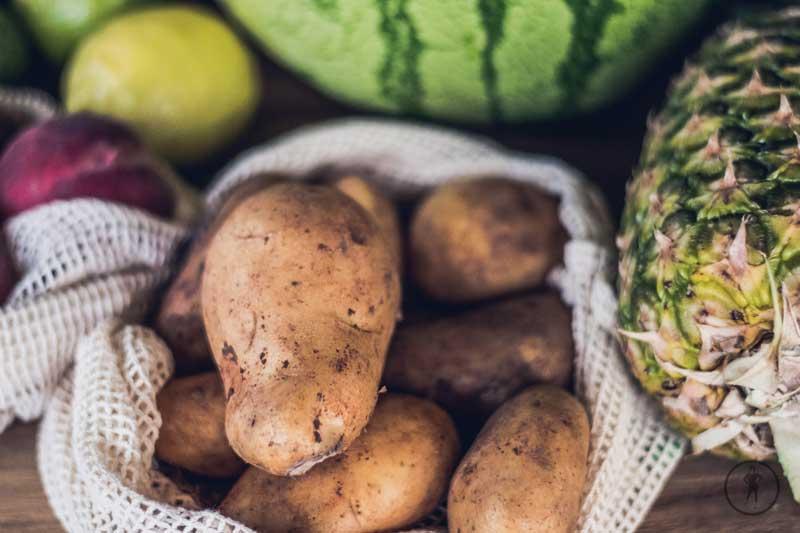 Frisch vom Markt - Kartoffeln für die Rubblerdäpfel