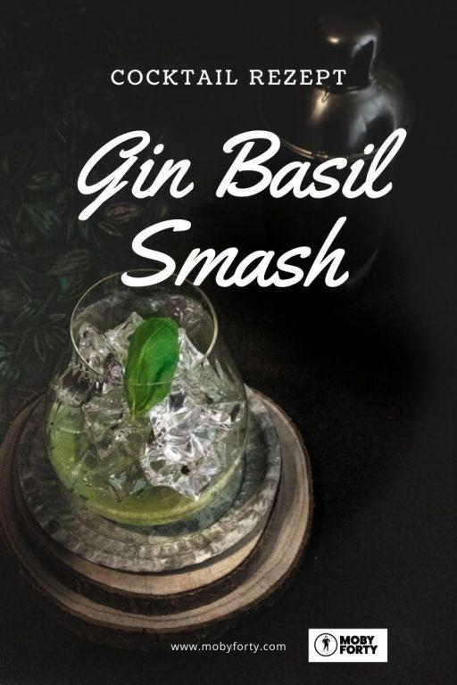 Gin Basil Smash - der schnelle Cocktail für zuhause
