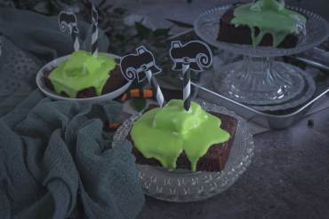 Wicked Witch Halloween Brownies