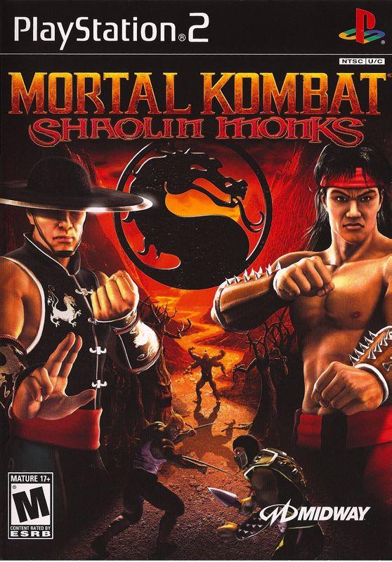 Shaolin Monks Mortal Ps2 Kombat Cover