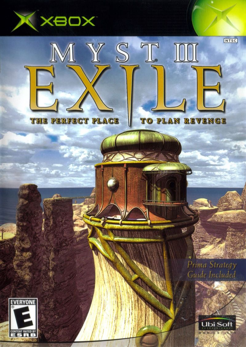 Myst III Exile For Xbox 2002 MobyGames