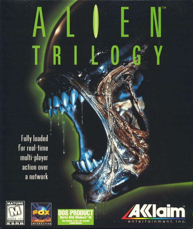 Alien Trilogy For DOS 1996 MobyGames