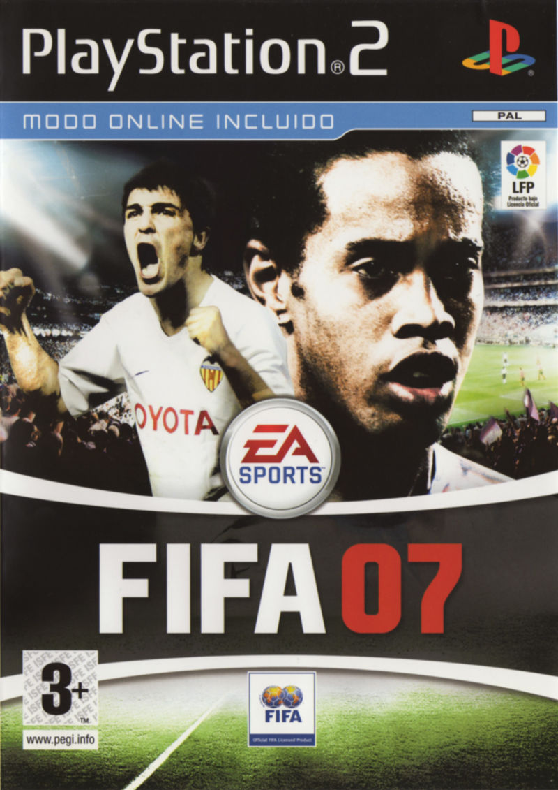 Fifa Soccer 07 For Playstation 2 2006 Mobygames