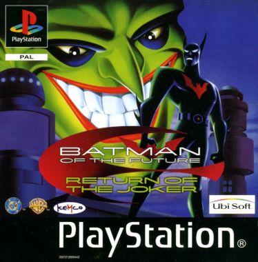 Batman Beyond: Return of the Joker PlayStation Front Cover