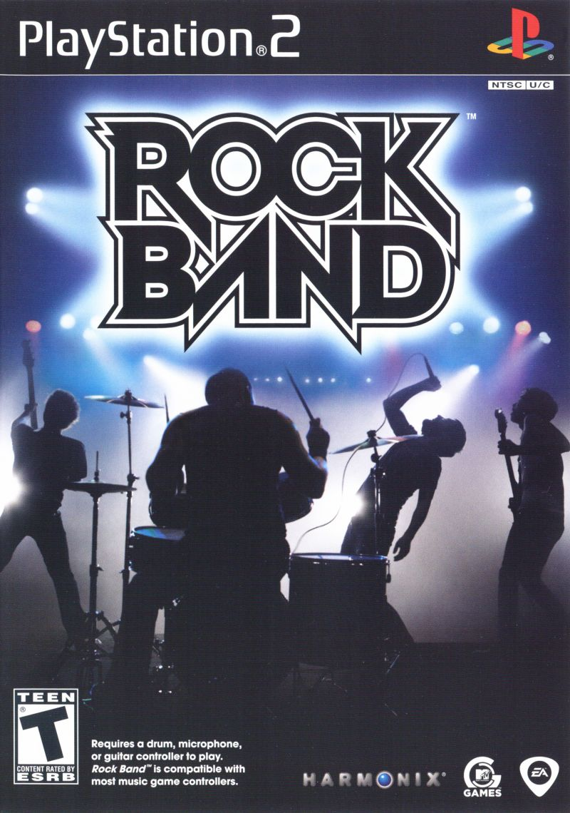 Rock Band For PlayStation 2 2007 MobyGames