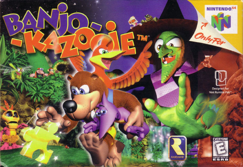 Image result for banjo kazooie cover