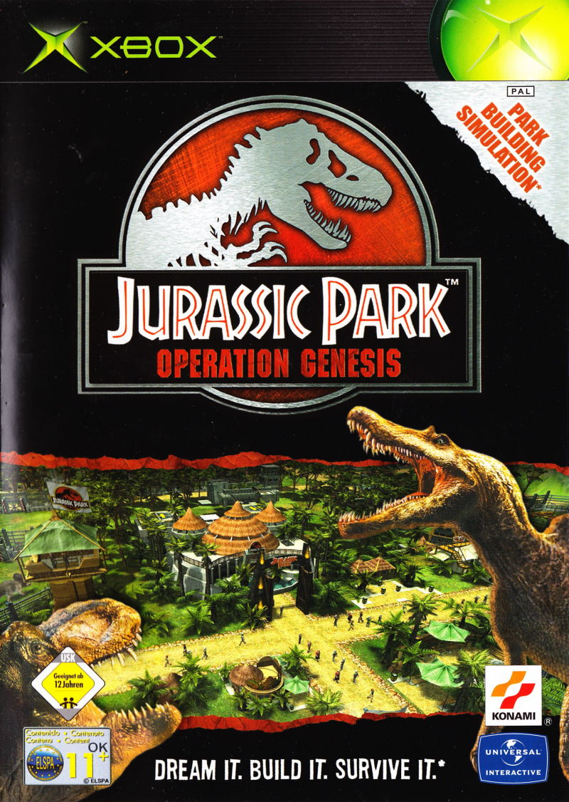Jurassic Park Operation Genesis For Xbox 2003 MobyGames