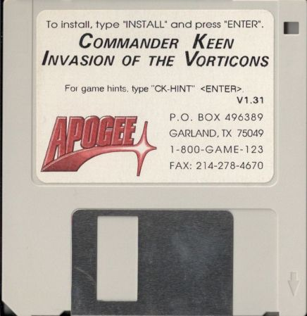 Image result for commander keen floppy