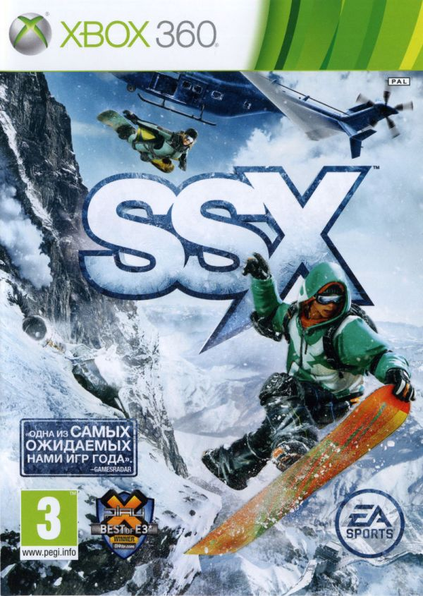 SSX (2012) Xbox 360 box cover art - MobyGames