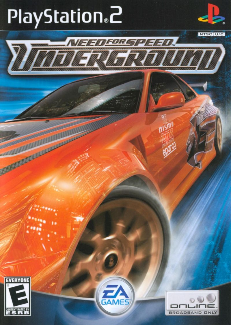 Need For Speed Underground For Gamecube 2003 Mobygames