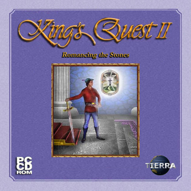 King's Quest II: Romancing the Stones Windows Front Cover