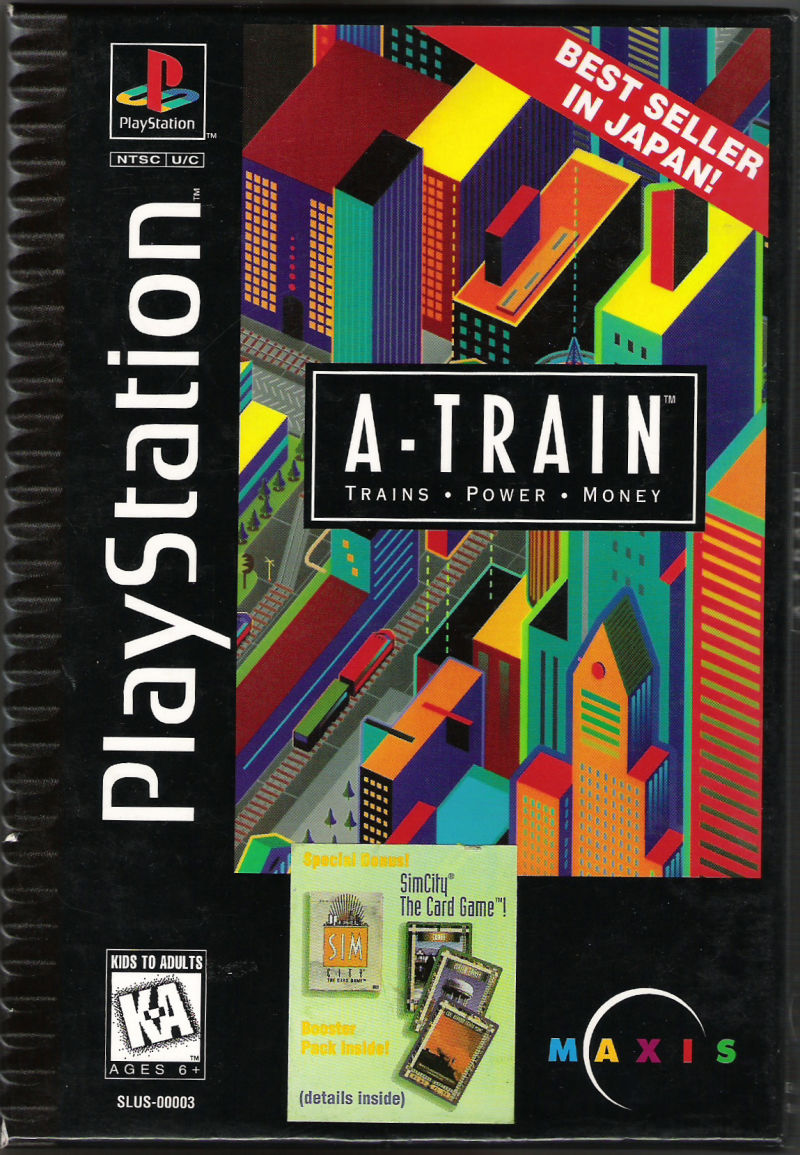A Train For Playstation 1995 Mobygames