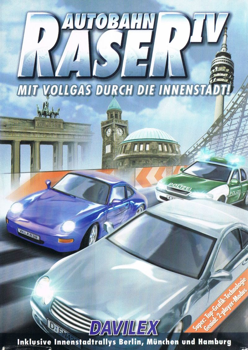 Autobahn Raser IV Windows Front Cover