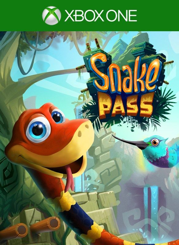 Snake Pass 2017 Xbox One Box Cover Art MobyGames