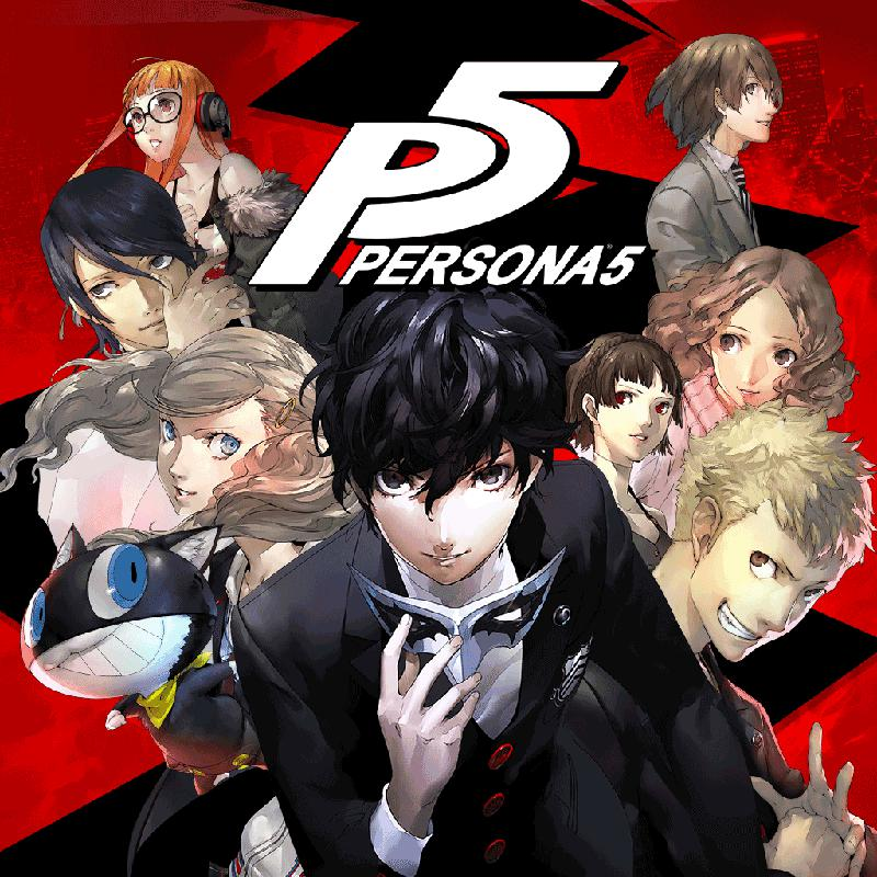 Image result for persona 5 cover art