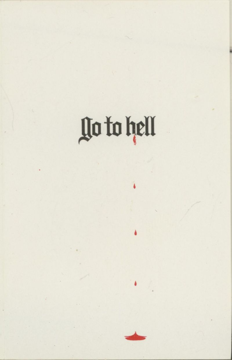 Go to Hell ZX Spectrum Front Cover