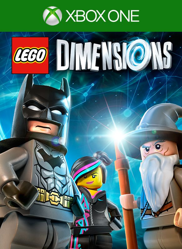 LEGO Dimensions 2015 Xbox One Box Cover Art MobyGames
