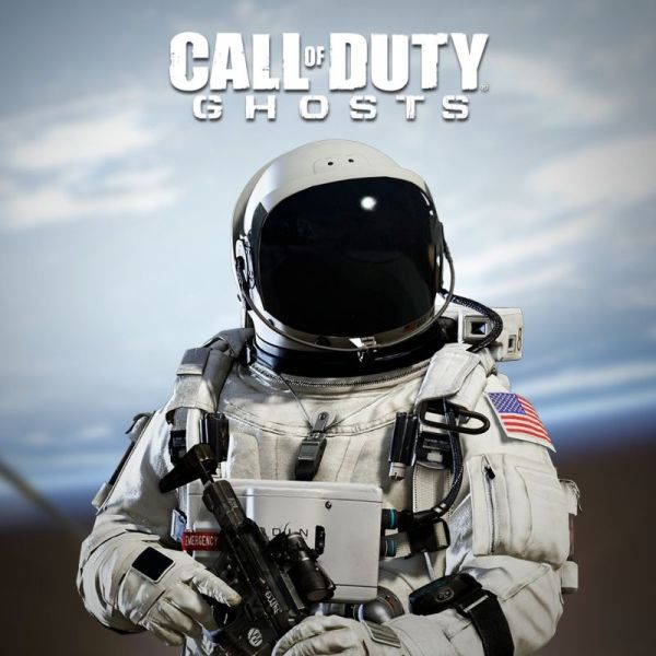 Call of Duty Ghosts Astronaut Special Character for