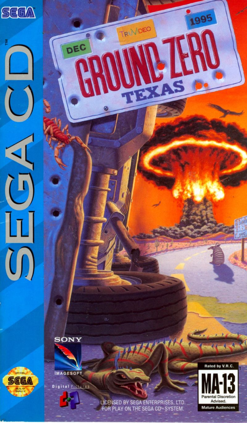 Ground Zero Texas For Sega Cd 1993 Mobygames