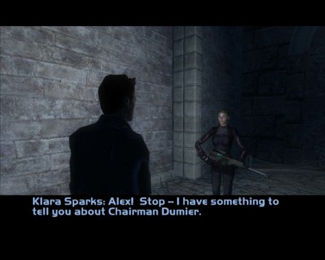 Deus Ex: Invisible War dialog