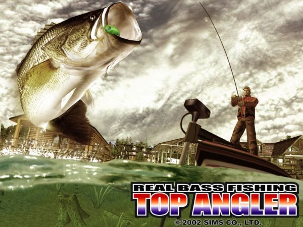 Top Angler (2003) promotional art - MobyGames