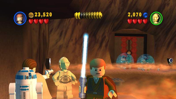 Lego Star Wars The Video Game 2005 Promotional Art
