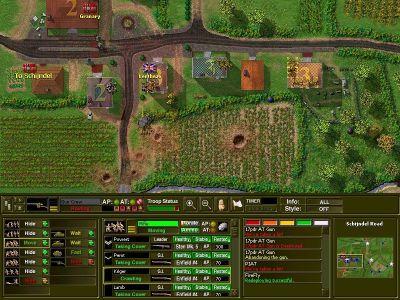 Close Combat: A Bridge Too Far Windows Infantry assault