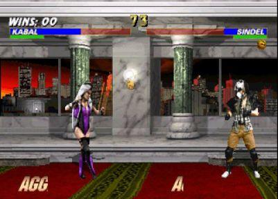 Mortal Kombat Trilogy Windows Kabal vs Sindel.