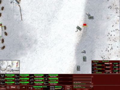 Close Combat III: The Russian Front Windows Russian Tanks - in winter