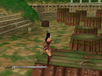 Xena: Warrior Princess PlayStation This is the Training Area