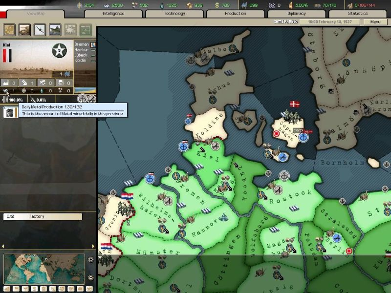 Hearts of Iron II  Doomsday Screenshots for Windows   MobyGames Economic Resource Map  Find out which provinces are rich in resources and  take  or guard  them for your benefit