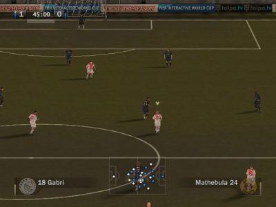 FIFA Soccer 07 Windows The camera for Sensible/World Wide Soccer/Ultimate Soccer/Striker fans