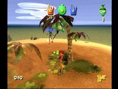 Ooga Booga Dreamcast Smacking an opponent