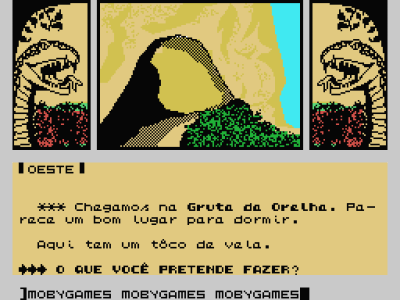 """A Lenda da Gávea MSX Gruta da Orelha (""""Ear's Grotto"""")"""