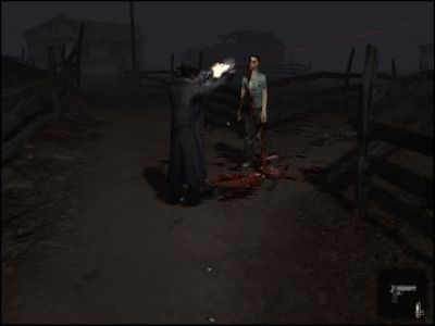 Nocturne Windows Zombies and head shots, a staple of any horror game.