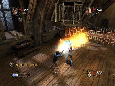 Harry Potter and the Goblet of Fire Windows Versatile magic wand will even extinguish fire.