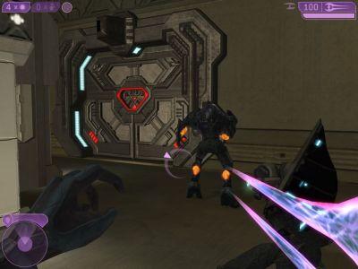 Halo 2 Windows Preparing an ambush.
