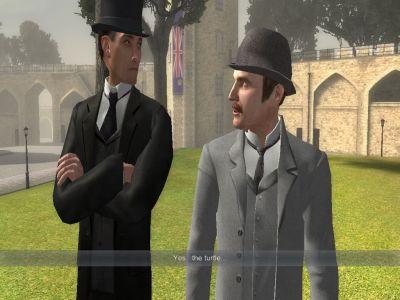 Sherlock Holmes: Nemesis Windows Holmes and Watson