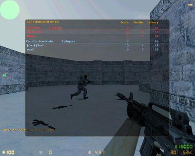 Half-Life: Counter-Strike Windows Scoring Screen