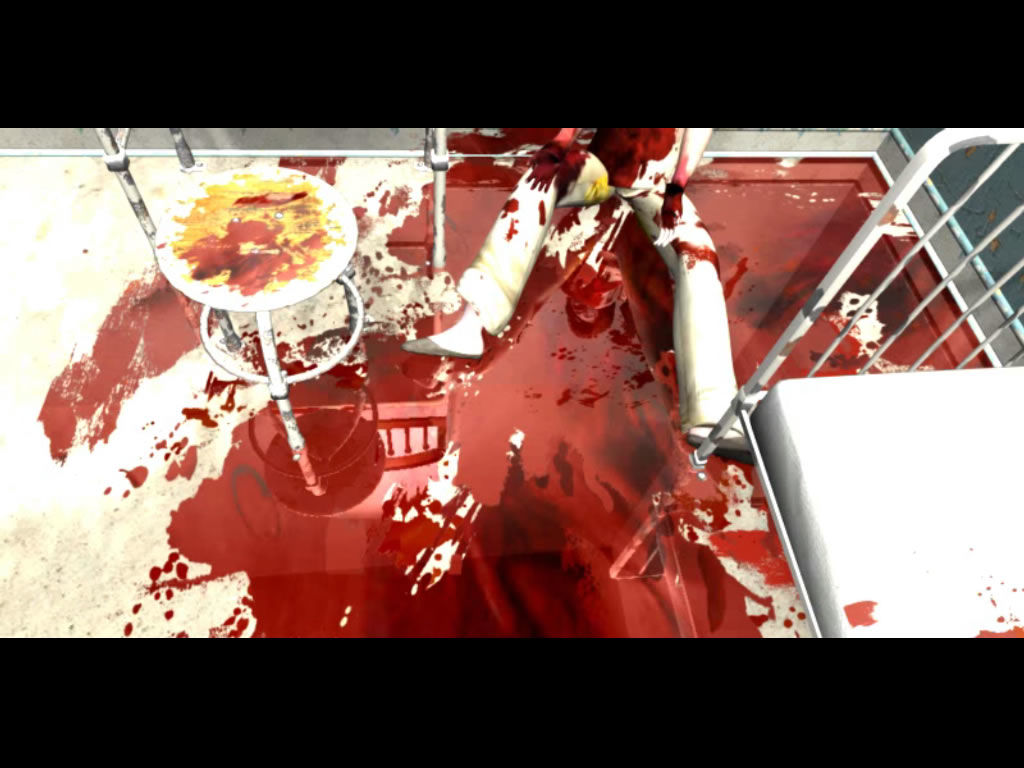 Overclocked: A History of Violence Windows A gruesome scene