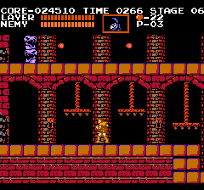 Castlevania NES These traps can crush me if I'm not careful.